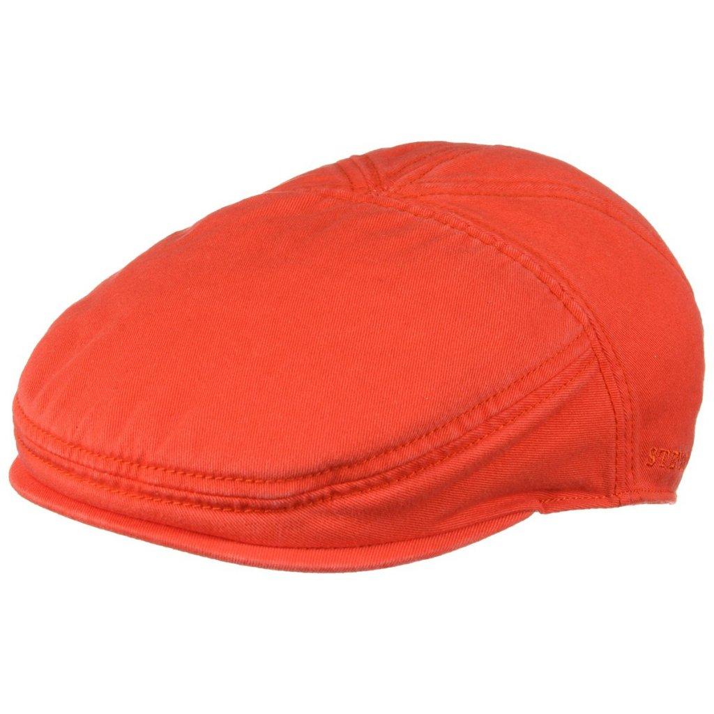 Sixpence / Flat cap - Stetson Paradise Cotton (orange) - Sixpence / Flat caps - Herrehatte ...