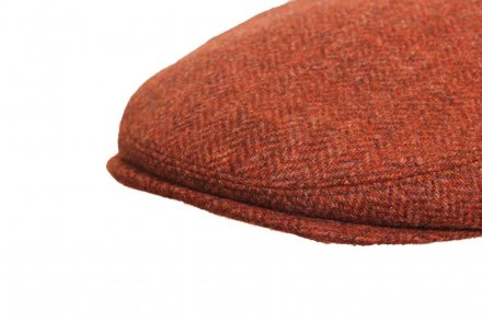 Sixpence / Flat cap - City Sport Caps Lisses (rust)