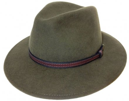 Hatte - Faustmann Lavello Pinch Crown (khaki)