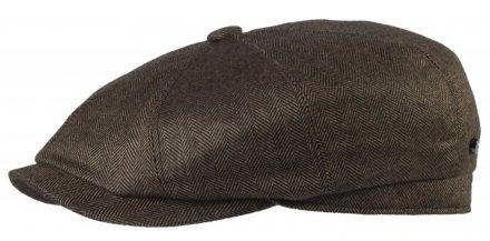 224405344f35e Sixpence   Flat cap - Stetson Hatteras Wool Cashmere Silk (brun)
