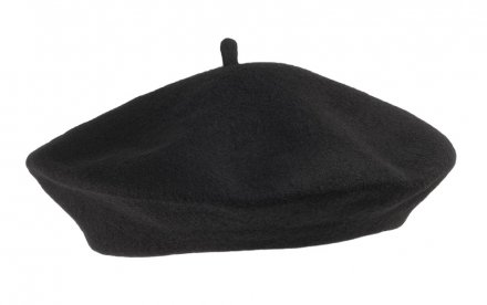 Baret - Wool Fashion Beret (sort)