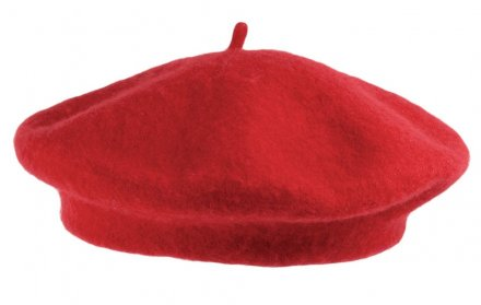 Baret - Wool Fashion Beret (rød)