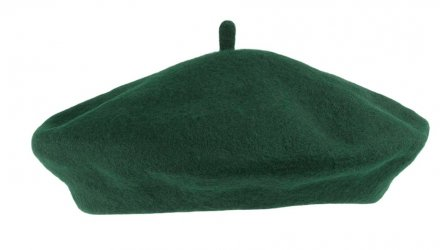 Baret - Wool Fashion Beret (grøn)