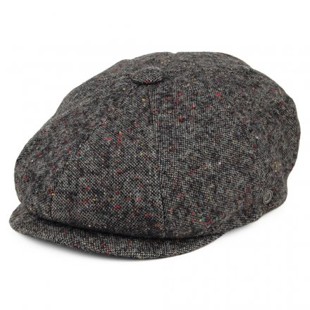 Sixpence / Flat cap - Jaxon Blackheath Newsboy Cap (sort-multi)
