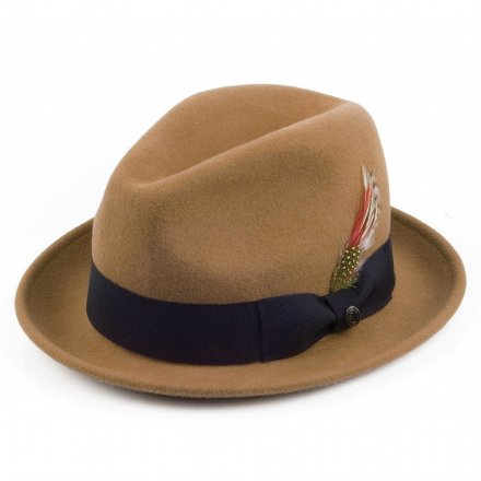 Hatte - Crushable Blues Trilby (lysebrun)
