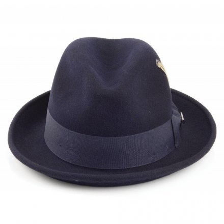 Hatte - Crushable Blues Trilby (marineblå)