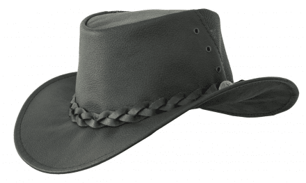 Hatte - Jacaru Kangaroo Breeze Hat (sort)