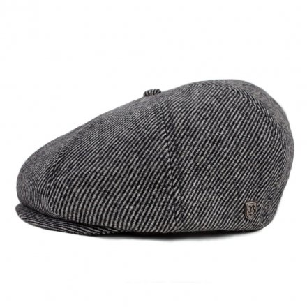 Sixpence / Flat cap - Brixton Brood (black/bone)