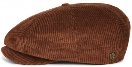 Sixpence / Flat cap - Brixton Brood (brown cord)