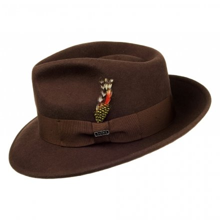 Hatte - Crushable C-Crown Fedora (brun)