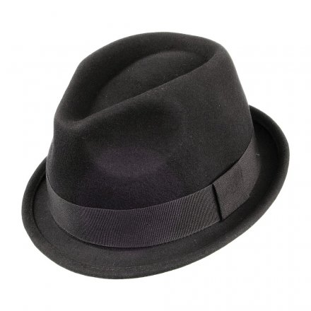 Hatte - Crushable Dekker Trilby (sort)