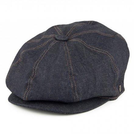 Gubbkeps   Flat cap - Jaxon Denim Newsboy Cap (mörkblå) c8cfdd69b0eb3