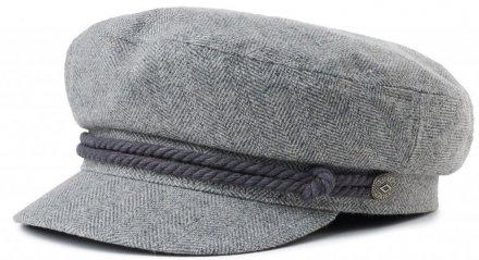 d74cdd320b8d7 Sixpence   Flat cap - Brixton Fiddler (heather grey)