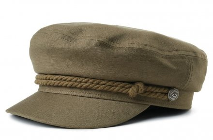 Sixpence / Flat cap - Brixton Fiddler (Military olive)
