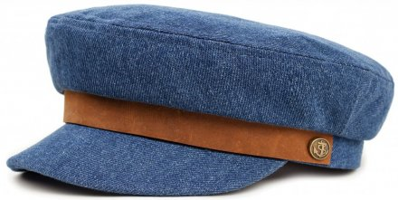Sixpence / Flat cap - Brixton Fiddler (light denim)