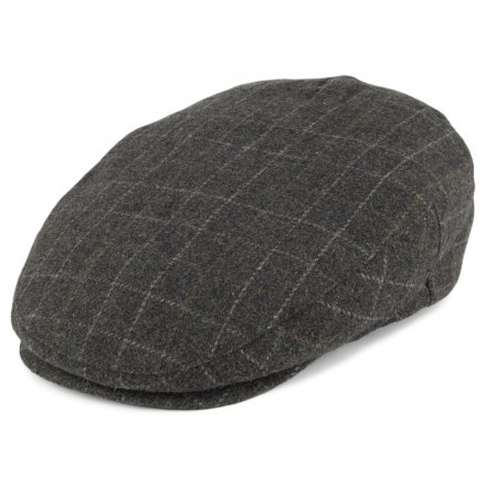 Sixpence / Flat cap - Brixton Hooligan (grå plaid)