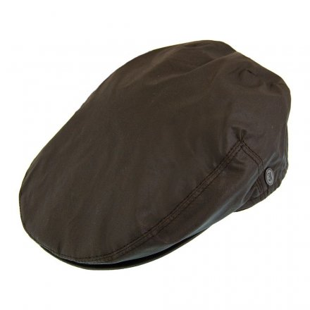 Sixpence / Flat cap - Jaxon Hats Oil Cloth Flat Cap (brun)