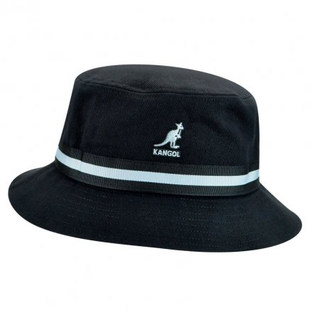 Hatte - Kangol Stripe Lahinch (sort)