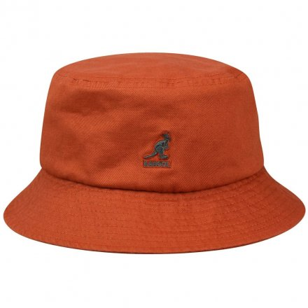 Hatte - Kangol Washed Bucket (rust)