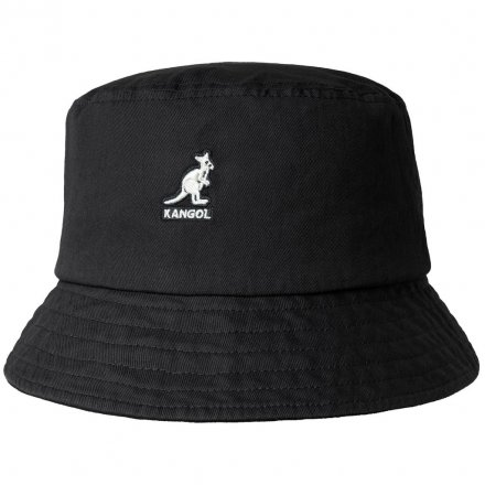 Hatte - Kangol Washed Bucket (sort)