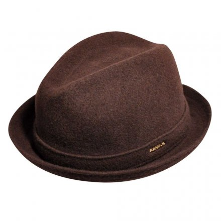 Hatte - Kangol Wool Player (brun)