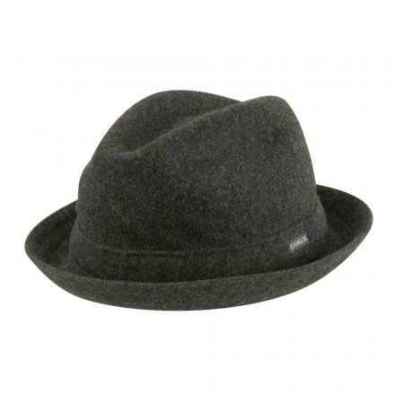 Hatte - Kangol Wool Player (grå)