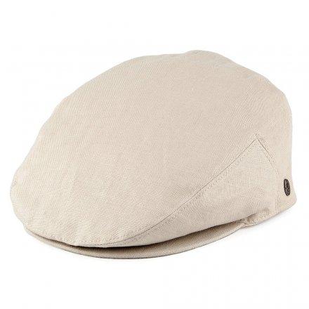 Gubbkeps   Flat cap - Jaxon Hats Linen Flat Cap (natur) f586208891251