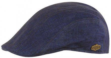67fe196016b Sixpence   Flat cap - MJM Maddy Eco Linen (blå)