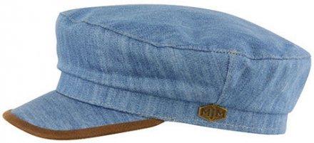 23859258e8e8a Sixpence   Flat cap - MJM Marines Cotton (blå)