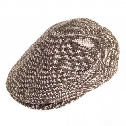 Gubbkeps   Flat cap - Jaxon Hats Marl Tweed Flat Cap (brun) 42bdc3178f117