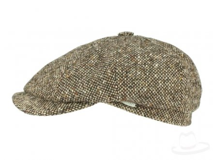 Sixpence / Flat cap - Mayser Seven Dover (brun)