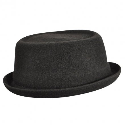 Hatte - Kangol Wool Mowbray (sort)