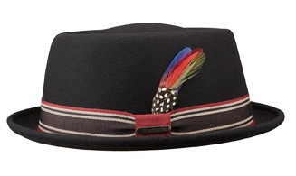 Hatte - Stetson Pawling (sort)