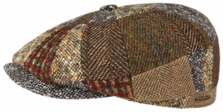 Sixpence / Flat cap - Stetson Hatteras Patchwork