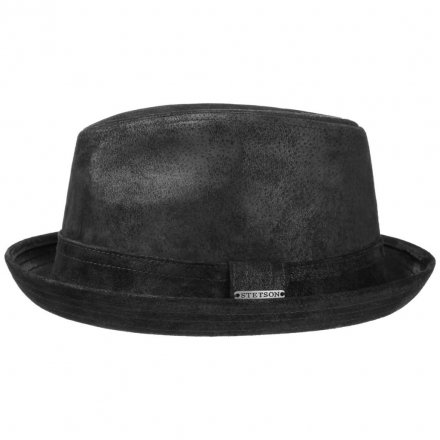 Hatte - Stetson Radcliff Leather (sort)