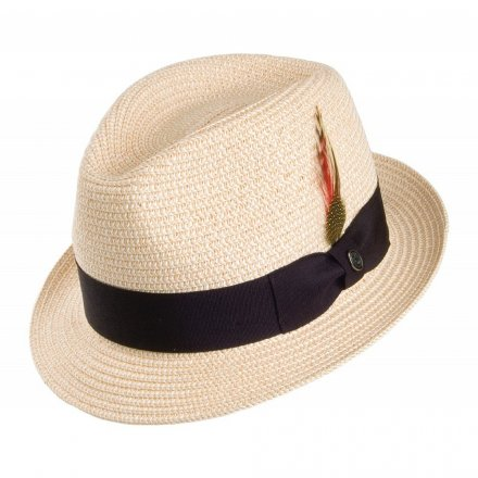 Hatte - Toyo Braided Trilby (natur)