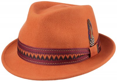 Hatte - Stetson Tribly Woolfelt (orange)