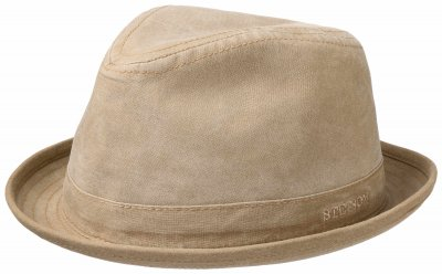 Hatte - Stetson Player Organic Cotton (beige)