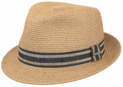 Hatte - Stetson Player Linen Mix (natur)