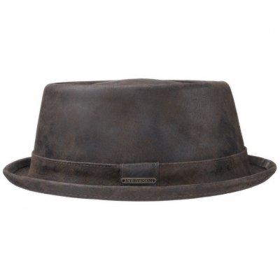 Hatte - Stetson Hobbs Leather (brun)
