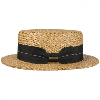 Hatte - Stetson Boater Vintage Wheat (natur)