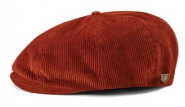Sixpence / Flat cap - Brixton Brood (amber cord)