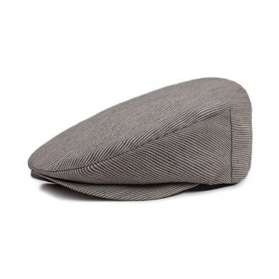 Sixpence / Flat cap - Brixton Barrel (grey stripe)