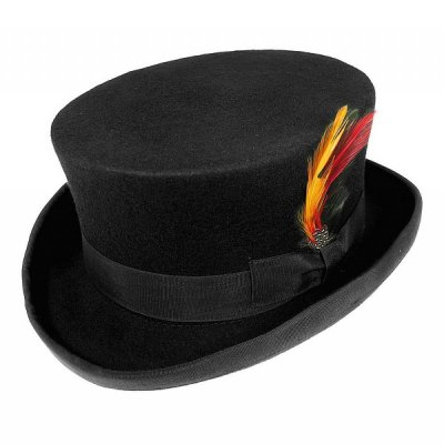 Hatte - Deadman Top Hat (høj hat) (sort)