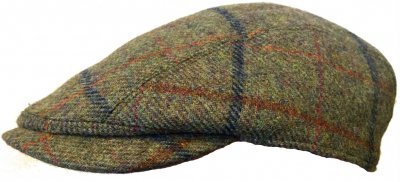 271f89cc8ad Gubbkeps   Flat cap - Lawrence and Foster Linton (grön tweed ...