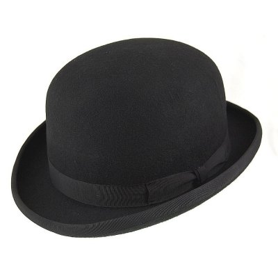 Hatte - English Bowler Hat (sort)