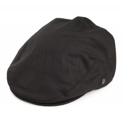 Sixpence / Flat cap - Jaxon Hats Cotton Flat Cap (sort)