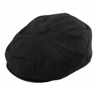 Sixpence / Flat cap - Jaxon Hats Cotton Newsboy Cap (sort)