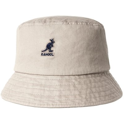 Hatte - Kangol Washed Bucket (khaki)
