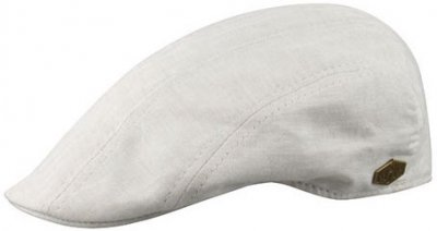 Sixpence / Flat cap - MJM Maddy Eco Linen Mix (beige)